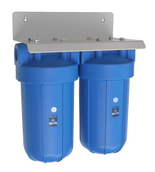 Dvojni vodni filter za hišo Big Blue Duplex