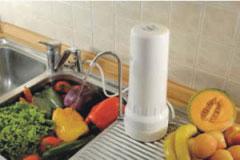 Vodni filter Matrikx® + Pb1 0,5 mcr, nadpultni - namestitev v kuhinji