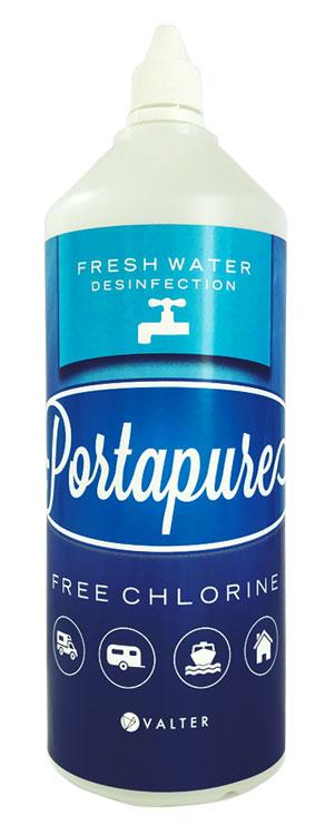 Dezinfekcijsko sredstvo Porta Pure Fresh Water, 1 L