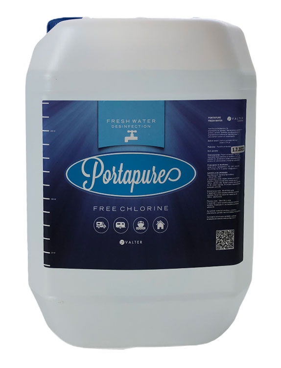 Dezinfekcijsko sredstvo Porta Pure Fresh Water, 5 L