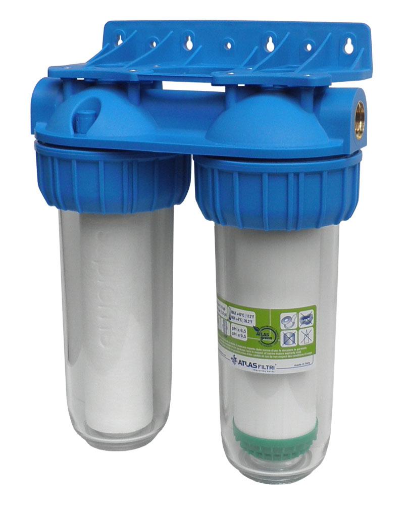 Dvojni vodni filter Duplex Pro