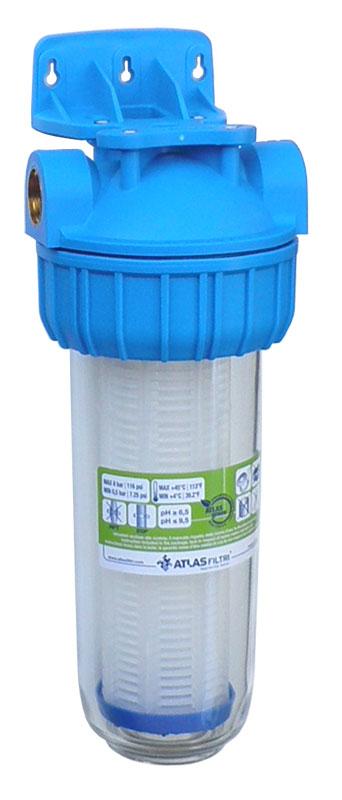 """Filter za vodo PNN 50 mcr TP 10"""" z mrežico za mehansko filtriranje vode"""