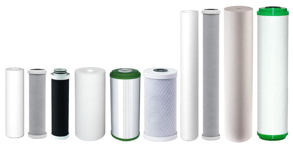 Nadomestni filtrirni vložki za vodne filtre