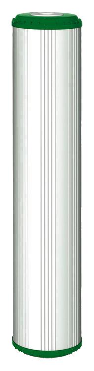 """Filtrirni vložek aktivno oglje GAC + KDF® 55, BB 20"""""""