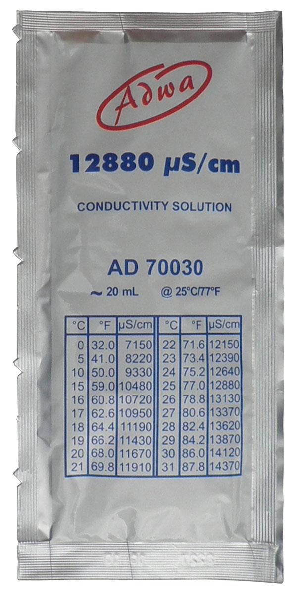 Kalibrirna tekočina 12880 µS/cm za umerjanje EC-TDS metra