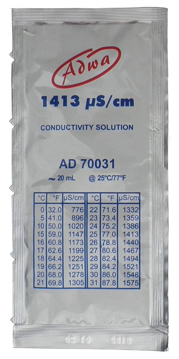 Kalibrirna tekočina 1413 µS/cm za umerjanje EC-TDS metra