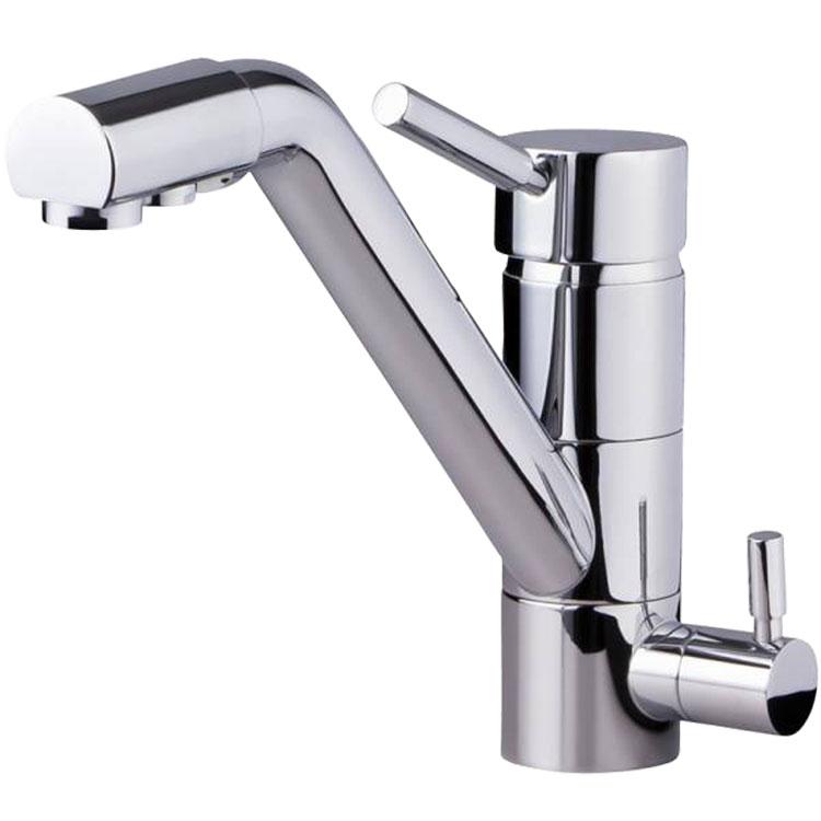 Kuhinjska armatura - pipa 3v1, točenje filtrirane vode, hladne in tople vode