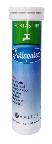 PortaStrip merilni lističi za kontrolo koncentracije dezinfekcijskega sredstva