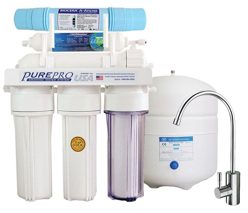 Reverzna osmoza PurePro® EC106 Pro Biocera Antioxidant Alkaline