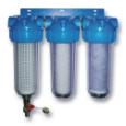 Trojni vodni filter za hišo Eko Triplex